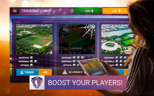 Women's Soccer Manager - Football Manager Game 1.0.13 screenshots 8