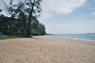 Photo: CHERATING-Plage du Club Med de Cherating Beach en Malaisie