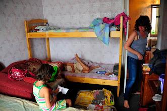 Photo: Ulan Bator - voici à quoi ressemble une chambre dans l'un de ces appartements. C'est simple, fonctionnel et économique. Douches, WC et cuisine communes avec les pensionnaires des 2 autres chambres.