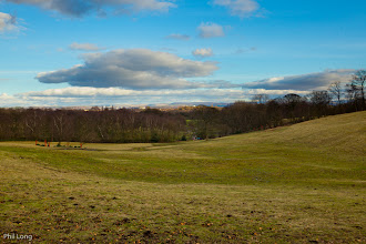 Photo: A view across the hills - near and far - in Heaton Park.