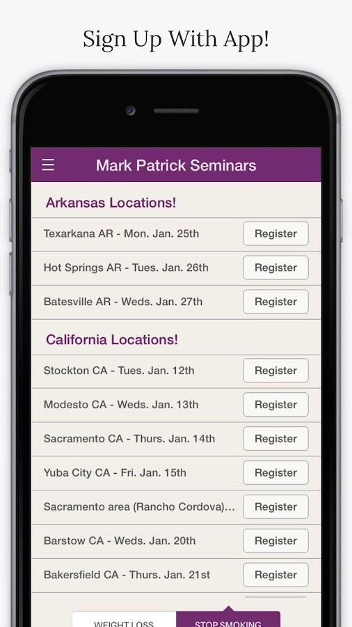 Mark Patrick Seminars App- screenshot