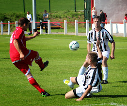 Photo: 26/08/13 v Barmouth & Dyffryn United (Welsh Alliance 1st Division) 4-0 - contributed by Gary Spooner