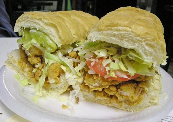 Shrimp Po Boy Sandwich Recipe