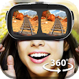 VR Roller Coaster 360 Video Icon