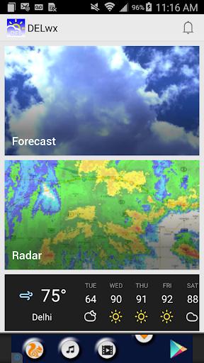 DEL wx: New Delhi Weather
