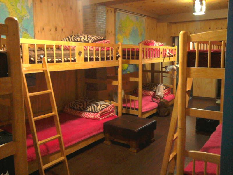 Photo: Rožinis hostelis.