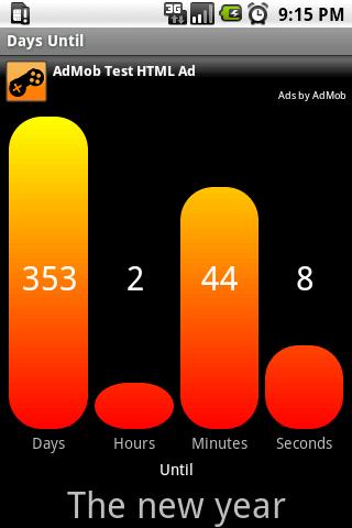 Days Until screenshot 1