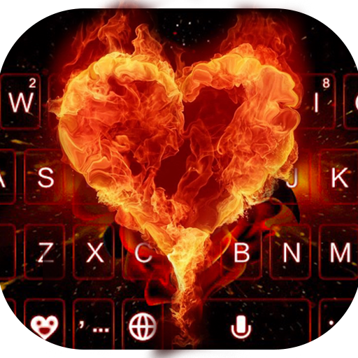 Flamingheart Keyboard Theme Icon