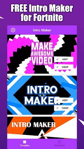 Fort Intro Maker for YouTube - make Fortnite intro 1 2 3 Apk