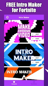 Fort Intro Maker for YouTube - make Fortnite intro 1 2 1 + (AdFree