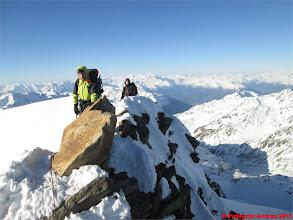 Photo: IMG_2383 Marco e Riccardo sulla cresta finale