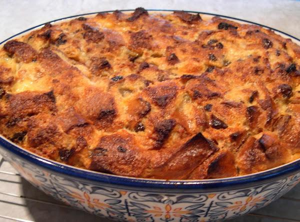Custard Raisin Bread Pudding Recipe