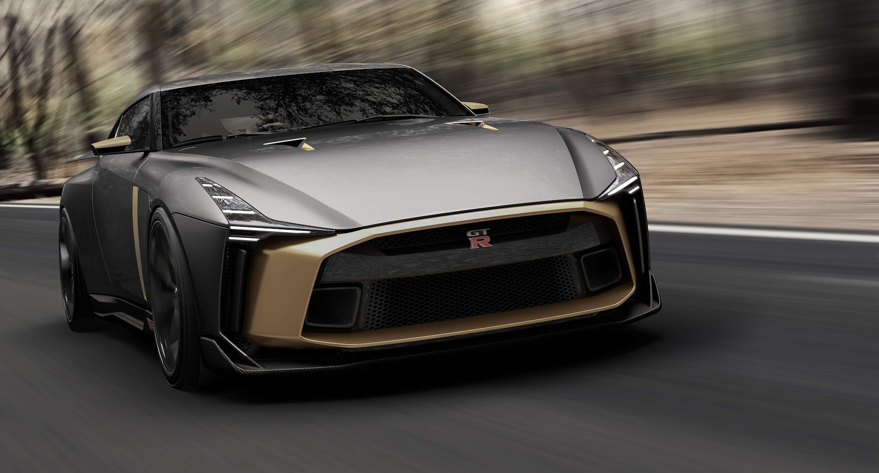 Italdesign Nissan GT-R50