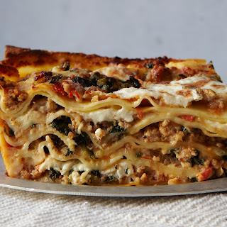 Veal and Spinach Lasagna.