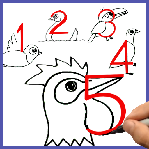 App Insights How To Draw Birds From Numbers Apptopia