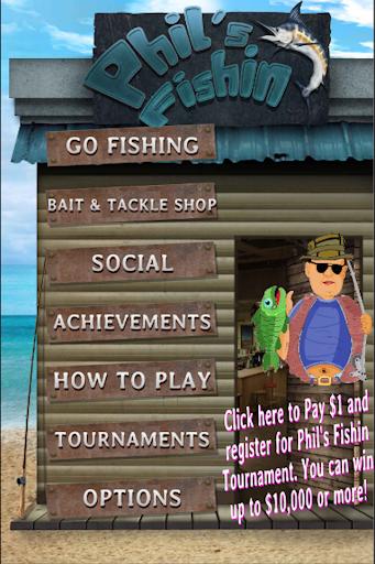Phil's Fishin: Tournaments