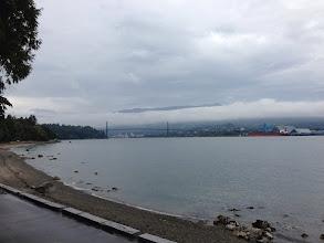 Photo: View of Lions Gate Bridge