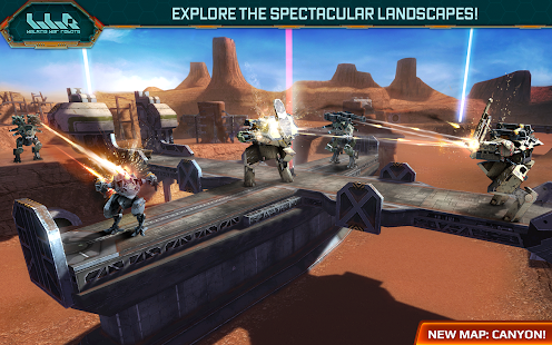 Walking War Robots 1.4.0 APK + DATA