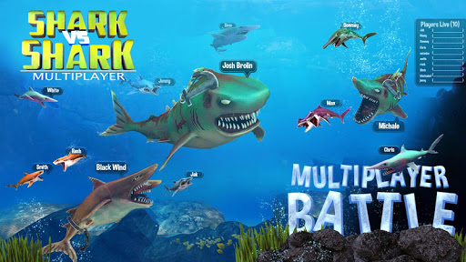 Shark vs Shark Multiplayer - Word Hunting - screenshot