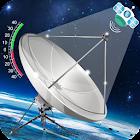 与测量仪的Satfinder Geo区域计算器 icon