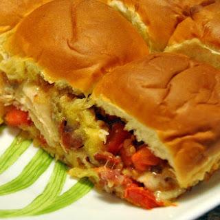 Hawaiian Ham Poppy Seed Sandwiches Recipes.