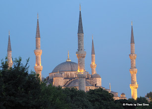 Photo: Day 105 - The Blue Mosque in the Twilight