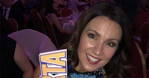 Susanna Reid wins big at National Reality TV Awards