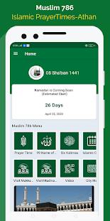 Download Muslim 786+ Islamic Prayer Times, Qibla Compass For PC Windows and Mac apk screenshot 1