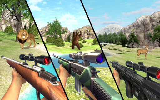 Real Jungle Animals Hunting - Best Shooting Game apkpoly screenshots 4