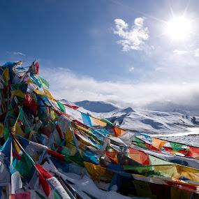 tibet by Lukman Lie - Landscapes Travel
