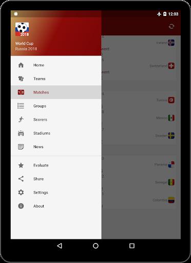 World Cup Russia 2018 - Live Scores & Schedule  screenshots 6