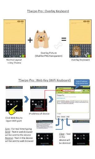TSwipe Pro keyboard screenshot 4