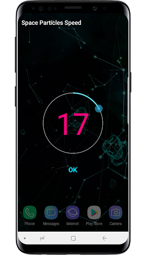 Space Particles 3D Live Wallpaper  screenshots 7