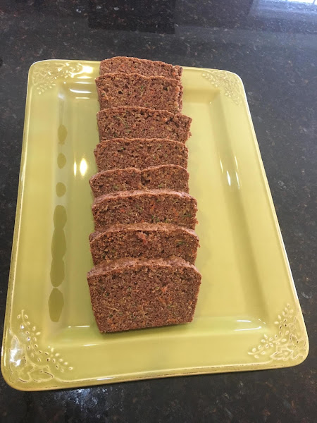 Zucchini Carrot Bread Recipe