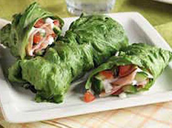 Cucumber Ranch Lettuce Wraps Recipe