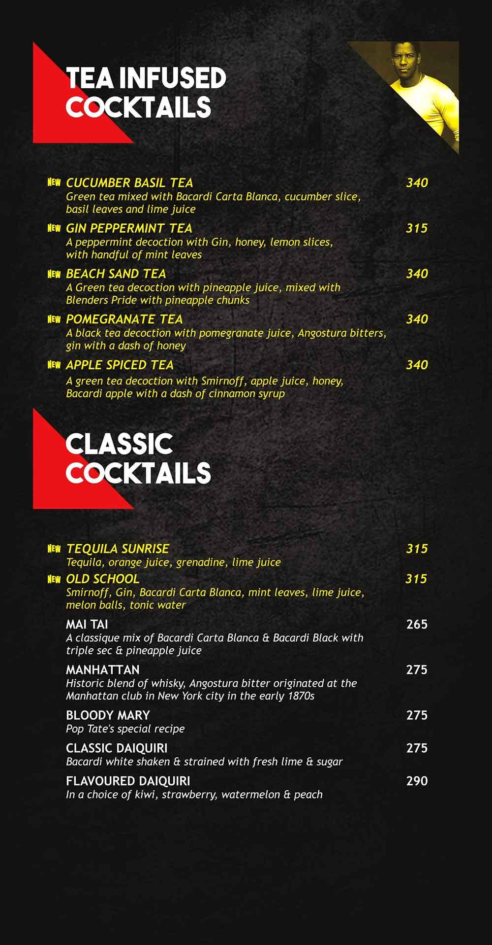 Pop Tate's menu 8