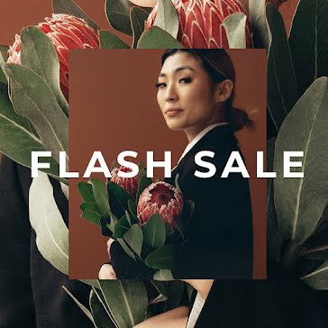 Floral Flash Sale - Instagram Post template