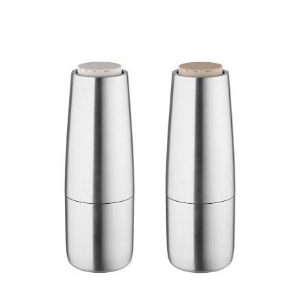 Salt- & Pepperkvarn, Matt rostfritt stål, SALPI