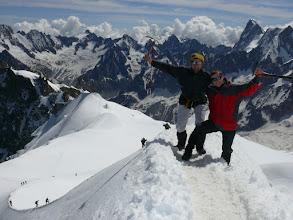 Photo: France, Mount Blanc (2)