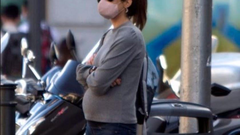 Isabel Jiménez está embarazada de su segundo hijo.