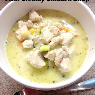 THM Creamy Chicken Soup