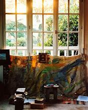 Photo: interior of handke's domicile