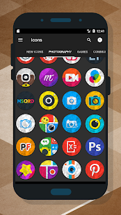 Crumple - Icon Pack Screenshot