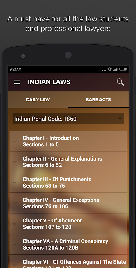 Daily Laws - India- screenshot