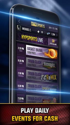 HypSports: Live Sports Game Shows  screenshots 1