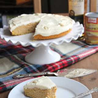 Gluten-Free Spiced Pumpkin Cake with Whisky Buttercream