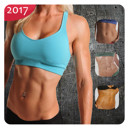 Fitness Women Body Building : Six Pack
