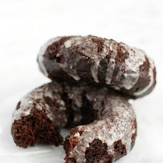 Vegan Glazed Chocolate Donuts. Recipe
