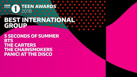 bbc radio 1 best international group