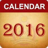 Gujarati Calendar 2016